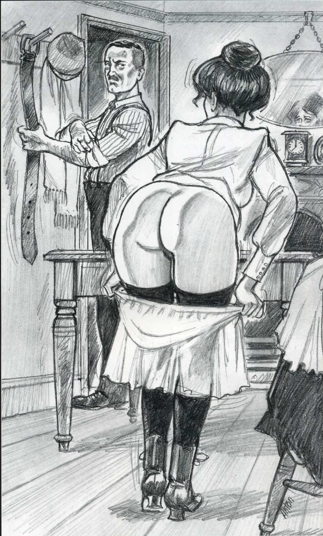 Proper way to erotic spank